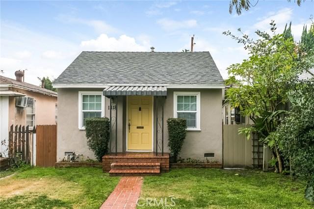 1318 W VERDUGO Avenue, Burbank, CA 91506