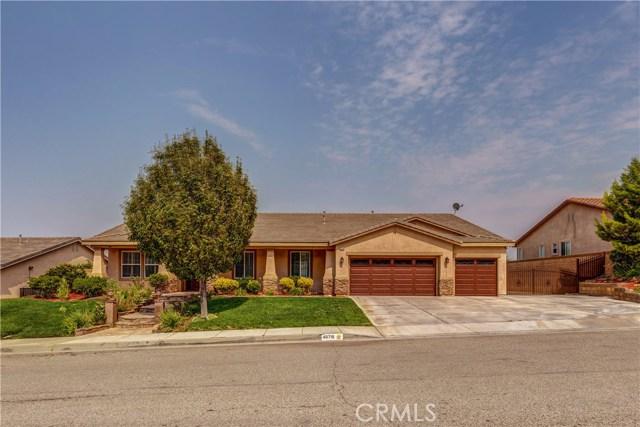40718 Whitecliff Way Palmdale, CA 93551 - MLS #: SR18196827