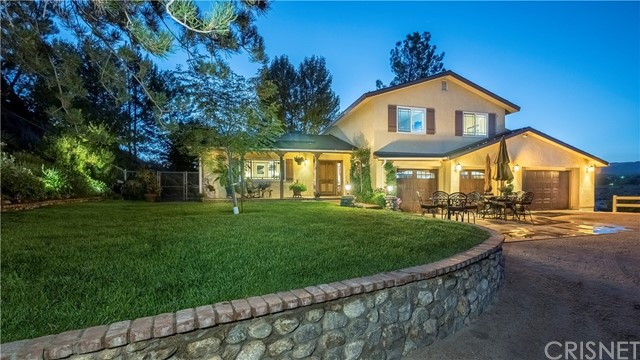 Single Family Home for Sale at 31761 Lake Meadow Road Acton, California 93510 United States