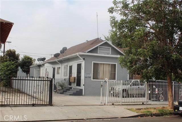 1794 W 24th Street Los Angeles, CA 90018 - MLS #: SR18209650