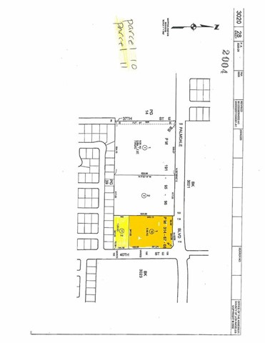 Land for Sale at 4000 Palmdale Bl & 40th Street E Palmdale, 93551 United States