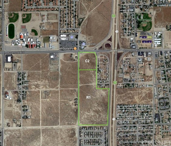 0 Rosamond Blvd./25th St. Residential, Rosamond, CA 93560