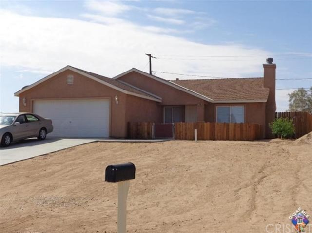 Single Family Home for Rent at 7100 Bay Avenue California City, California 93505 United States
