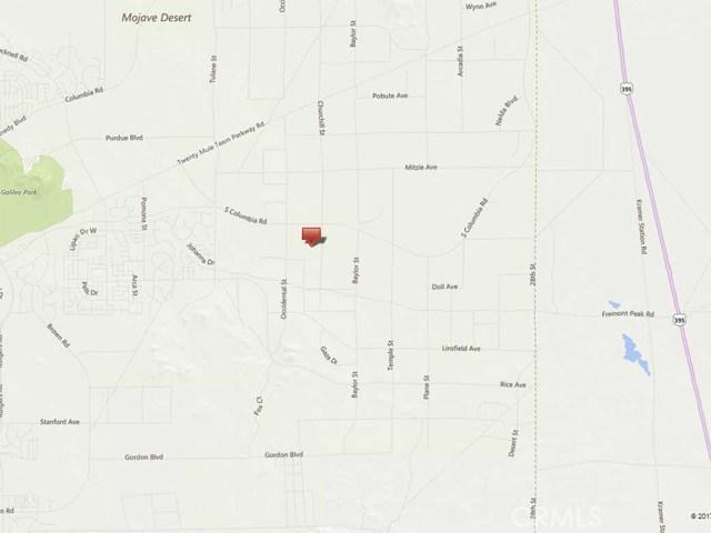 0 Churchill Street California City, CA 0 - MLS #: SR17231967
