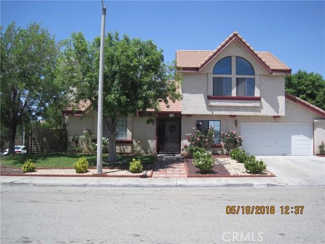 5377 Blue Sage Drive Palmdale, CA 93552 - MLS #: SR18118642
