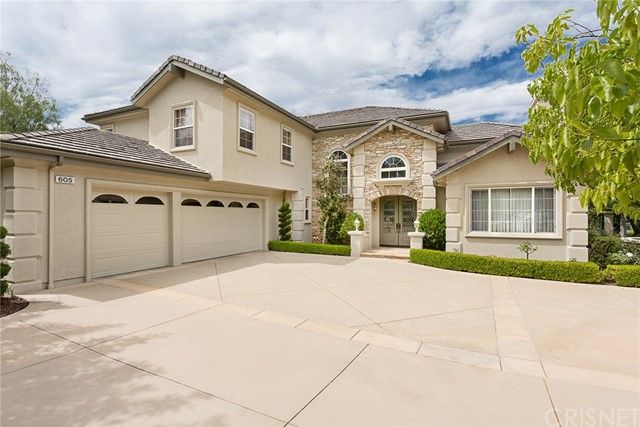Single Family Home for Sale at 605 Noble Road Simi Valley, California 93065 United States