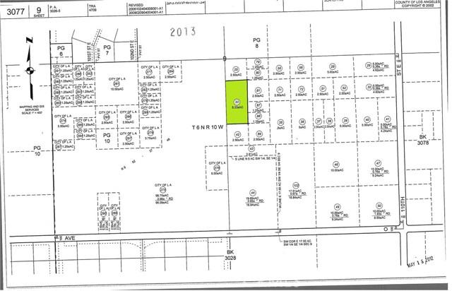 0 Vac/Vic 105 Ste/Ave N9 Palmdale, CA 93591 - MLS #: SR17129040
