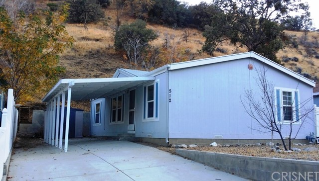 Single Family for Sale at 512 South Drive Lebec, California 93243 United States