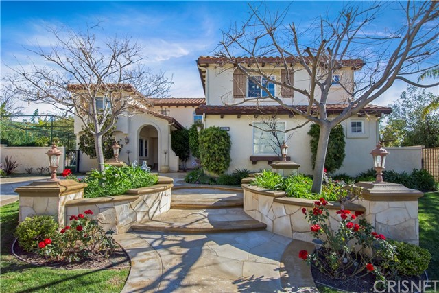 Single Family Home for Sale at 12042 Delante Way Granada Hills, California 91344 United States