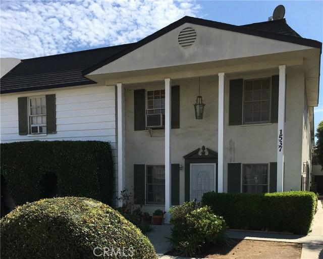 Residential Income for Sale at 1537 Centinela Avenue 1537 Centinela Avenue Santa Monica, California 90404 United States