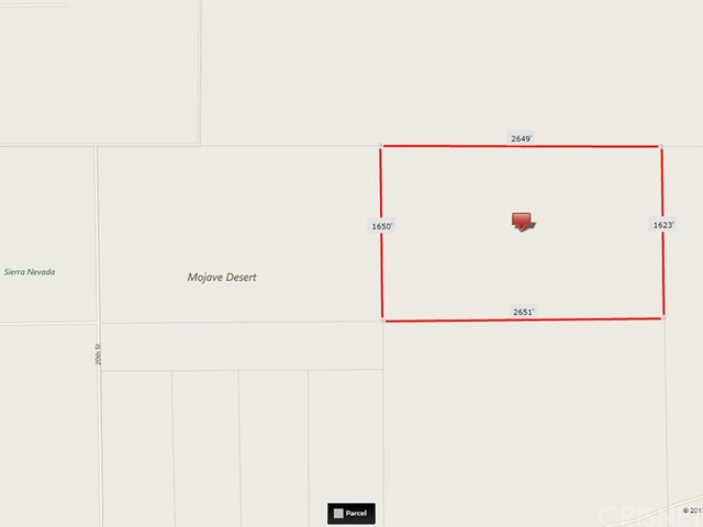 Land for Sale at 20 St. and Snake Avenue Mojave, United States