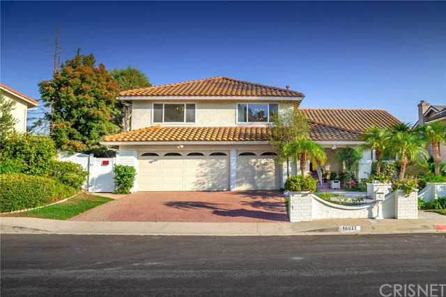 18922 Granada Circle , CA 91326 is listed for sale as MLS Listing SR18191445