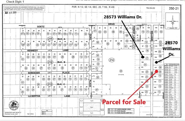 0 Williams Drive Canyon Lake, CA 92587 - MLS #: SR18032068