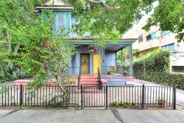 6026 Barton Avenue Los Angeles, CA 90038 - MLS #: SR18135932