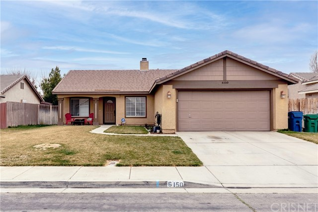 Detail Gallery Image 1 of 1 For 6150 Treehaven Ct, Lancaster,  CA 93536 - 3 Beds | 2 Baths