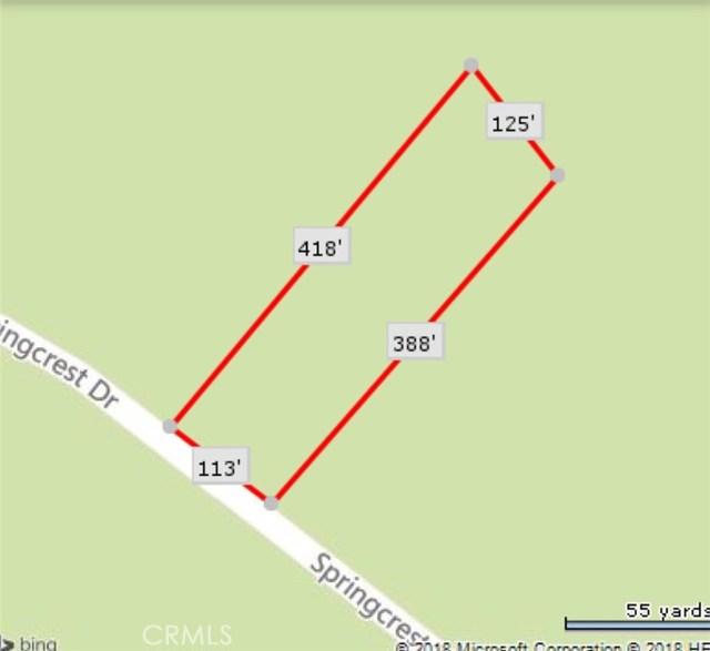 0 Springcrest Drive Mountain Center, CA 92561 - MLS #: SR18032087