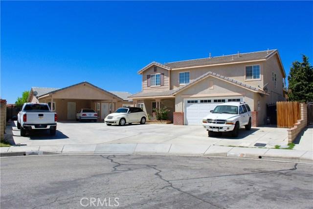 1860 Harlow Court Lancaster, CA 93534 - MLS #: SR18148766