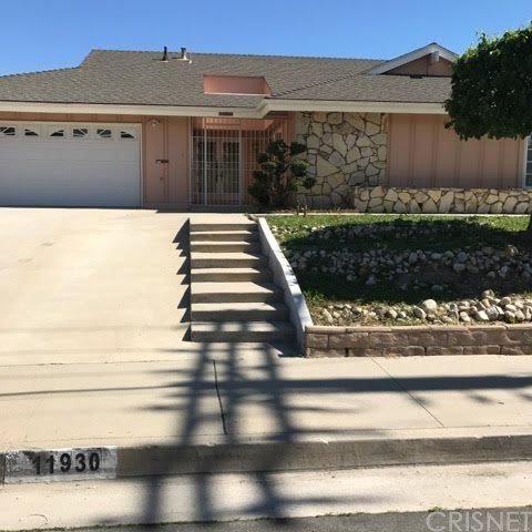 Single Family Home for Rent at 11930 Woodley Avenue Granada Hills, California 91344 United States