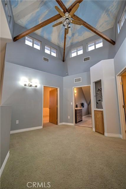 Upstairs area.