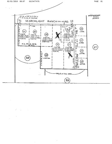 Detail Gallery Image 1 of 1 For 0 Vac/Cor Searchlight Ranch Road, Acton,  CA 93510 - – Beds | – Baths