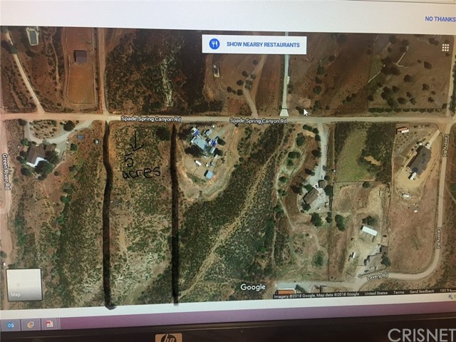 0 Vac/Spade Spr Canyon Drt /Vic Agua Dulce, CA 91350 - MLS #: SR18049133