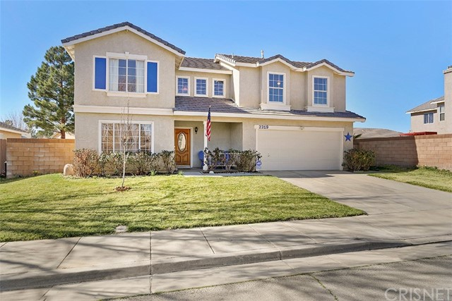 Single Family Home for Sale at 2319 Greenhill Street 2319 Greenhill Street Rosamond, California 93560 United States