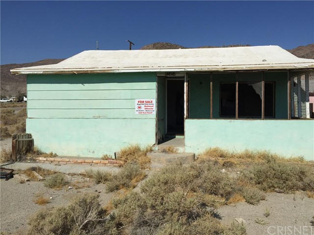 Single Family Home for Sale at 82404 3rd Street Trona, California 93562 United States