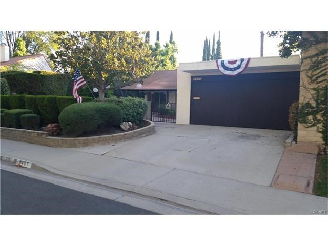 Single Family Home for Rent at 4407 Sevenoaks Court Westlake Village, California 91361 United States