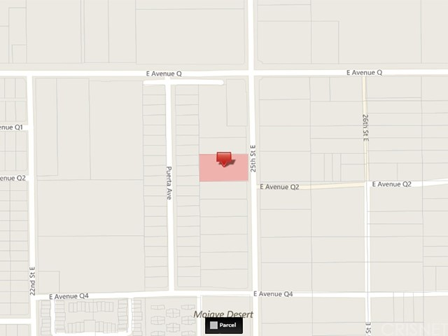 25 Street East and Avenue Q2 Palmdale, CA 93550 - MLS #: SR16188078