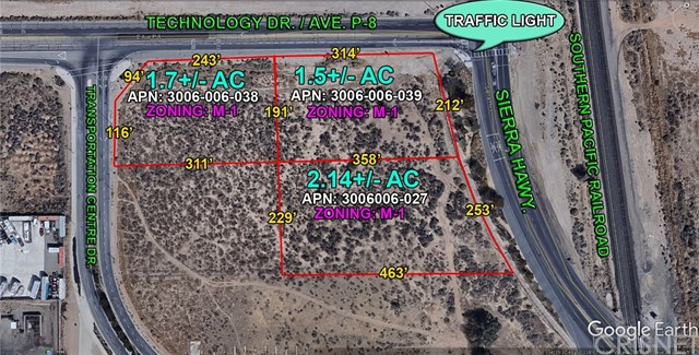 0 Sierra Hwy. and Ave. P-8 (Technology Dr.), Palmdale CA: http://media.crmls.org/mediascn/e90448fe-4ada-4a86-a37c-58d126d142fa.jpg
