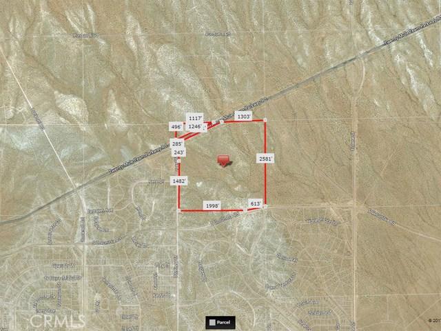 20 Mule team parkway Rd and Pomona Street California City, CA 0 - MLS #: SR17234449