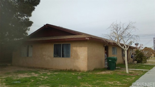 Single Family for Sale at 800 Commercial Avenue Ridgecrest, California 93555 United States
