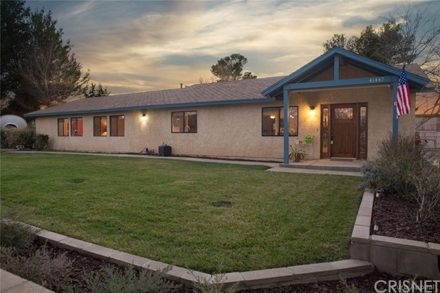 41447 25th Street Palmdale, CA 93551 is listed for sale as MLS Listing SR18039504
