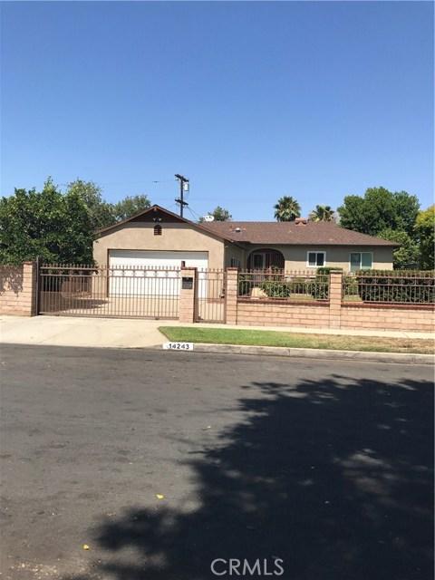 Single Family Home for Sale at 14243 Gruen Street Arleta, California 91331 United States