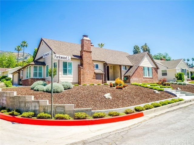 Single Family Home for Sale at 325 Parkwood Drive Glendale, California 91202 United States
