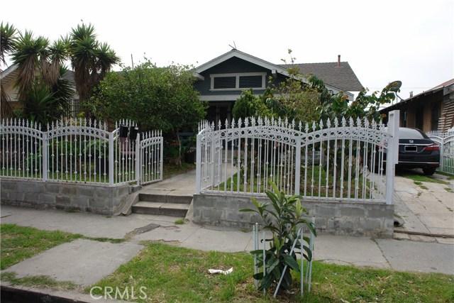 842 W 48th Street  Los Angeles CA 90037