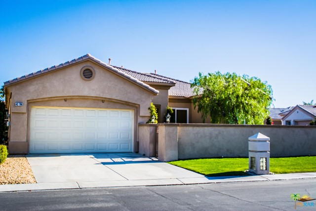 Photo of home for sale at 43786 ROYAL SAINT GEORGE Drive, Indio CA