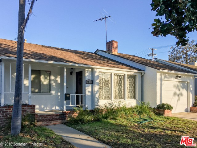 Single Family Home for Rent at 7616 El Manor Avenue Los Angeles, California 90045 United States