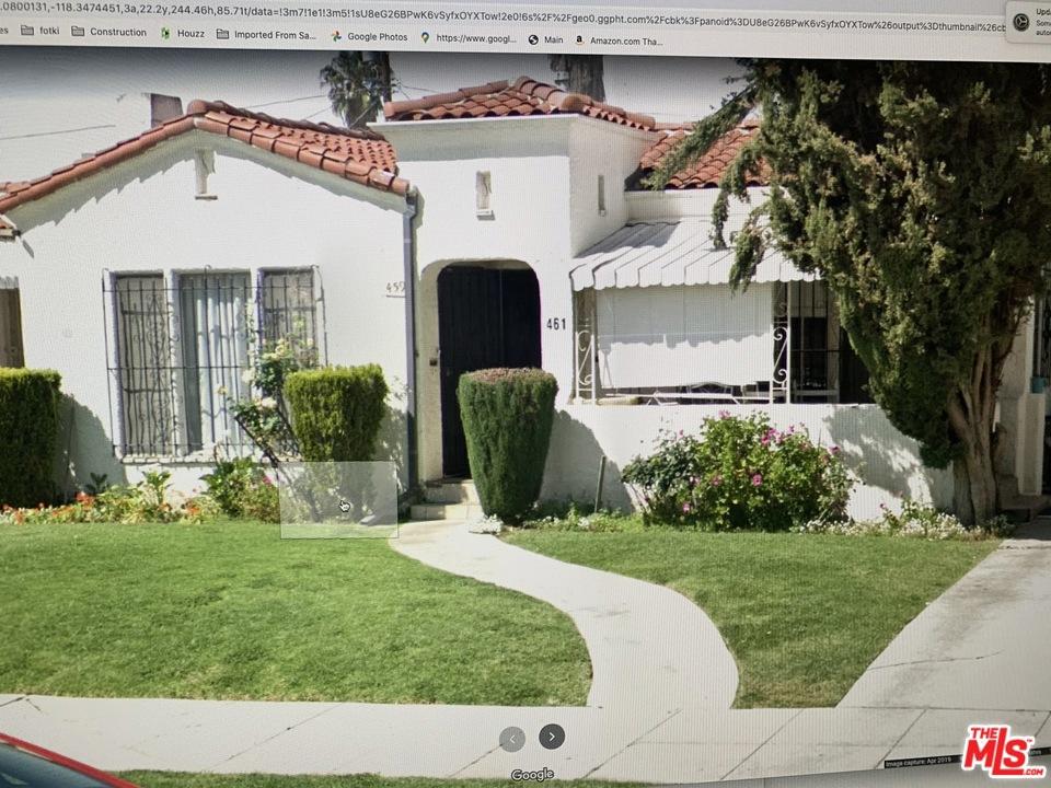 461 N Alta Vista Boulevard #  Los Angeles CA 90036