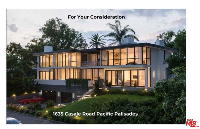 1635 Casale Road  Pacific Palisades CA 90272
