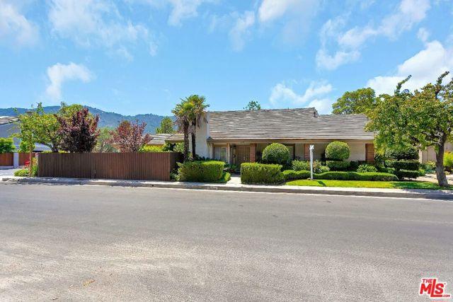 16899 Avenida De Santa Ynez  Pacific Palisades CA 90272