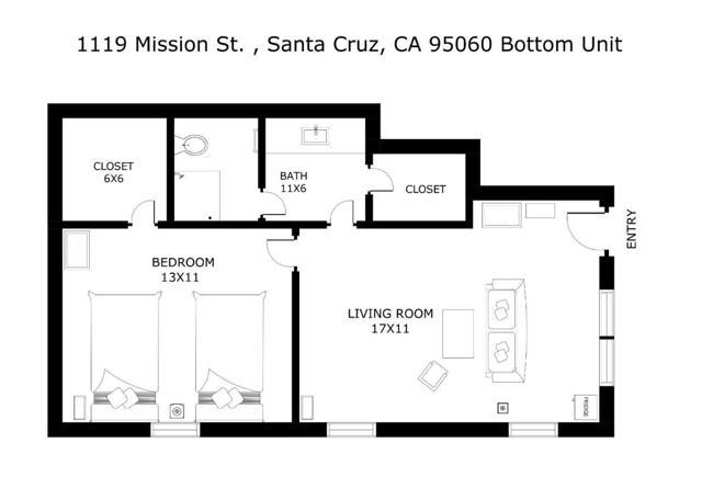 1119 Mission Street, Santa Cruz CA: http://media.crmls.org/mediaz/38C6A779-FC85-4247-ADB1-B8F9D4FFBA1D.jpg