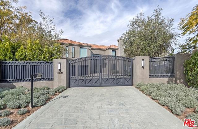 12071 CREST Court, Beverly Hills CA 90210