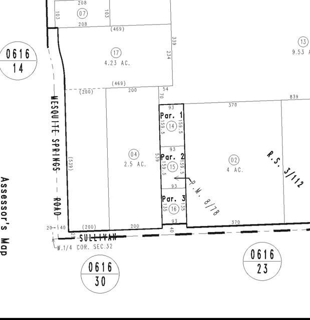 0 Sullivan, 29 Palms, California 92277, ,Land,For Sale,Sullivan,219042831PS