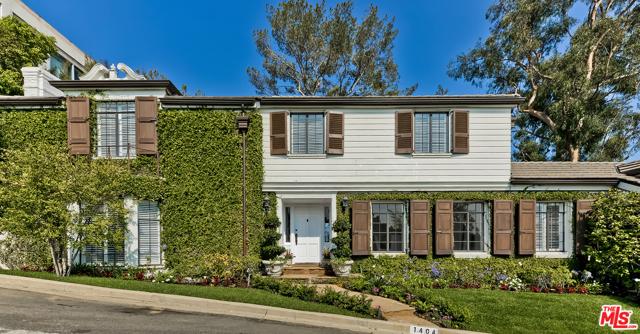 1404 Summitridge Drive  Beverly Hills CA 90210