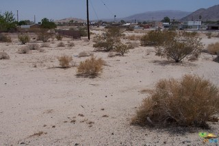 Photo of home for sale at 0 Lupine Avenue, 29 Palms CA