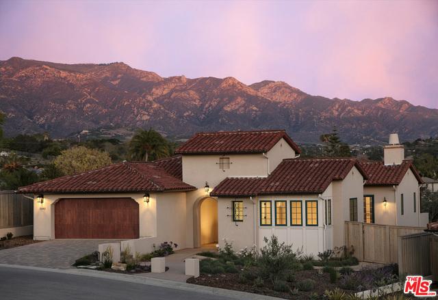Photo of home for sale at 5343 Plunkett Lane, Santa Barbara CA