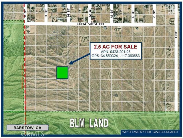 0 Near Linda Vista Avenue, Barstow CA: http://media.crmls.org/mediaz/8F06C799-88B7-47FC-9BBA-FD762BF56D25.jpg