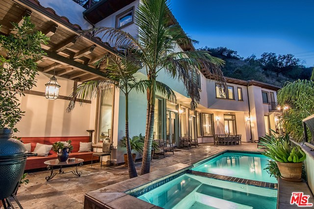 9675 HEATHER Road, Beverly Hills CA 90210
