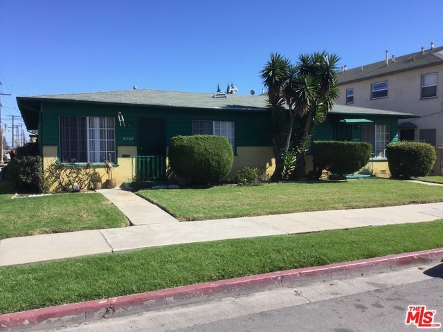 Single Family for Sale at 6502 Brynhurst Avenue Los Angeles, California 90043 United States